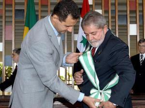Lula e Presidente da Síria